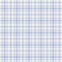 Penelope Pretty Plaid in Periwinkle by Lakehouse Dry Goods