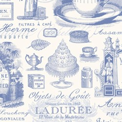 Penelope Paris Tea Two in Periwinkle by Lakehouse Dry Goods