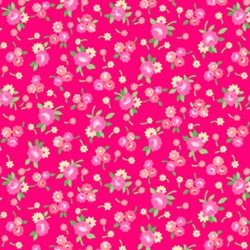 "33"" Remnant -- Pam Kitty Pretties Cherry by Holly Holderman of LakeHouse Dry Goods"