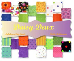 Daisy Deux 24 Piece 10 inch Pendant Pack™ (aka Layer Cake)