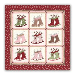Icicle Days Quilt Kit & Bonus Charm
