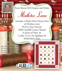 Mistletoe Lane Aurifil Thread Pack