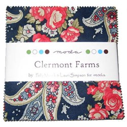 Clermont Farm Charm Pack by Minick & Simpson for Moda