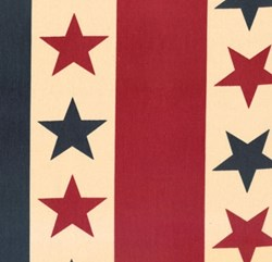 "18"" x 28"" Remnant- Nantucket - Star Bunting"