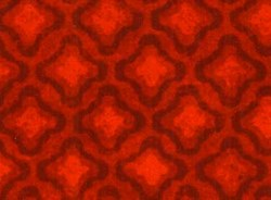 Fat Quarter - Olivia Quilting Fabric - Large Red Tonal Diamonds