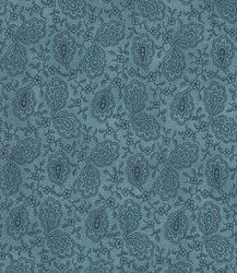"8"" Remnant- Prairie Paisley Light Blue by MODA"