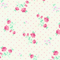 "27"" Remnant- Quilt Pink II by Moda"