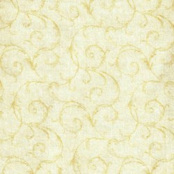 "52"" END OF BOLT - Lovely by RJR Fabric- Off White"