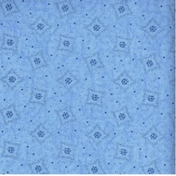 "32"" Remnant Piece -  RJR Fabric- Medium Blue"