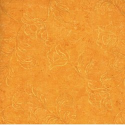 RJR Fabric- Dark Gold Flowers