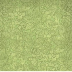 "End of Bolt - 61"" - RJR Fabric- Light Green Floral"