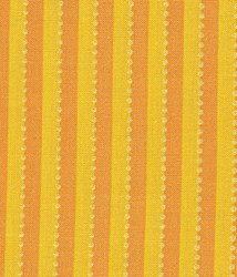 END OF BOLT - 1 1/2 Yards - Lakehouse Dry Goods-papaya stripe