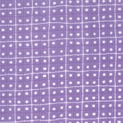 "29"" Remnant Piece Spring Fever - Purple with White Dots & Stripes"
