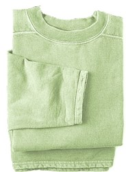 Boxy Cut Sweatshirt - X Large Celery