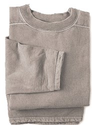 Boxy Cut Sweatshirt - 2 X Large Mocha