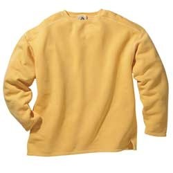 Boxy Cut Sweatshirt -   X Large- Goldenrod