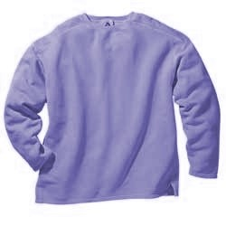 Last One!  Boxy Cut Sweatshirt -  X Large- Periwinkle