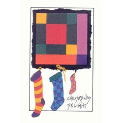Children's Delight Quilt Holiday Card Pack