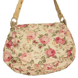 Prairie Rose - Lecien  Light Rose Floral Purse Kit