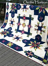 Back in Stock !  On The Horizon King Sized All at Once Quilt Kit