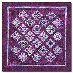 Crystal Reflections King Size Quilt Kit- All at Once