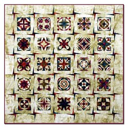 Desert Stars King Size Quilt Kit- All at Once
