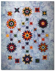 Mariners Star Queen Size Quilt Kit- All at Once