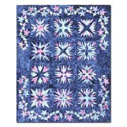 Midnight Stars Quilt Kit- All at Once