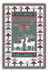 LAST ONE!  Alpine Wall Hanging Quilt Kit