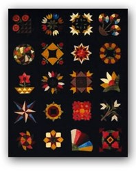 Antique 1800s -1940s Wool Applique Kit Bed Rug Block of The Month<br><i>Start Any Time!</i>