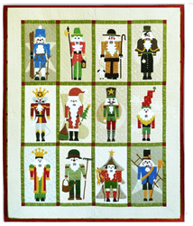 Classic Nutcracker Block of the Month or All at Once -- Wool Applique<br>Start Anytime!