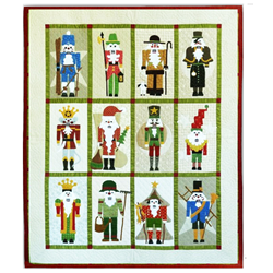 Classic Nutcracker Block of the Month or All at Once -- Wool AppliqueStart Anytime!