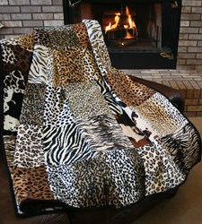 The Serengeti Snuggler Minky Quilt Pattern Download