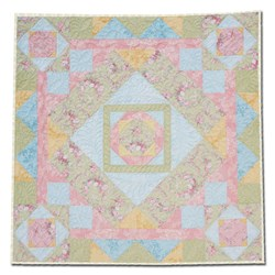 Somerset Garden Wallhaning -Table Topper Pattern Download - Optional Kit