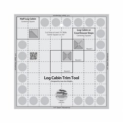 Creative Grids Log Cabin Trim Tool Ruler