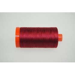 Aurifil #1103 -  Mako 50 wt  Thread - Burgundy