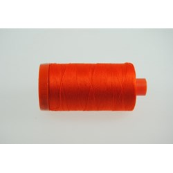 Aurifil  #1104 - Mako 50 wt  Thread - Bright Orange