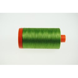 Aurifil #1114 - Mako 50 wt  Thread - Green Grass