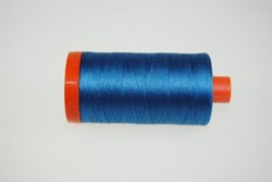 Aurifil #1125Mako 50 wt  Thread - Blue 1422.yd