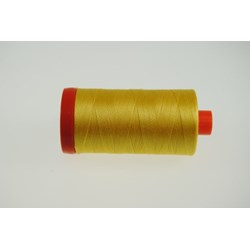 Aurifil #1135 - Mako 50 wt  Thread - Yellow