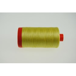 Aurifil #2115 - Mako 50 wt  Thread - Banana Yellow