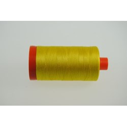Aurifil #2120 - Mako 50 wt  Thread - Bright Yellow