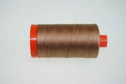 Aurifil #2340 - Mako 50 wt  Thread -Luggage Brown