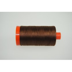 Aurifil #2360 -  Mako 50 wt  Thread - Dark Brown