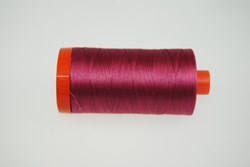 Aurifil #2455 - Mako 50 wt  Thread - Medium Carmine Red