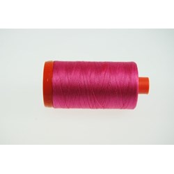 Aurifil #2530 - Mako 50 wt  Thread - Fruit Punch Pink