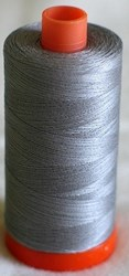Aurifil #2605 - Mako 50 wt  Thread - Gray