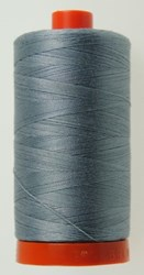 Aurifil #2610 - Mako 50 wt  Thread - Light Blue Gray