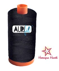 Aurifil #2692 - Mako 50 wt  Thread - Black