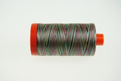 Aurifil #3817 - Mako 50 wt  Thread - Varigated Reds, Golds & Greens